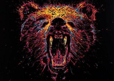 arnaudflow-bear-100-x-100-cm
