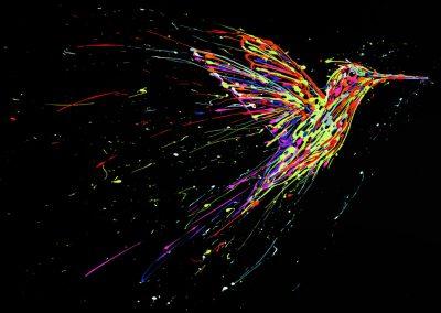 arnaudflow-colibri-100-x-73-cm