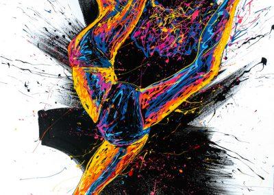arnaudflow-danseuse-130-x-100-cm