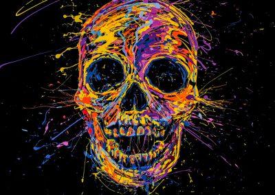 arnaudflow-skull-100-x-100-cm