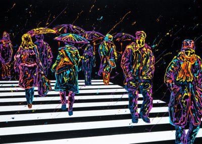 arnaudflow-walking-people-70-x-150-cm
