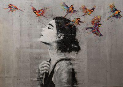 arnaudflow-femme-aux-oiseaux-130-x-100-cm
